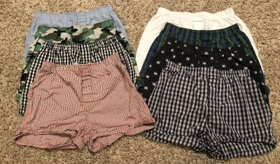 GapKids- 8 Pair Boxers. Size 12 Youth Boy.