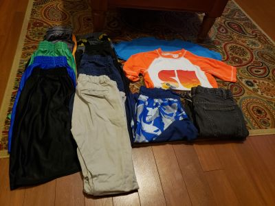 Boy's sizes 10-16 asst. Clothing items bundle