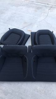 Used 2015-17 Ford Mustang rear seats
