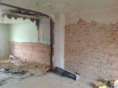 Rural Demolition - Wall Demo - Demolition & Removal