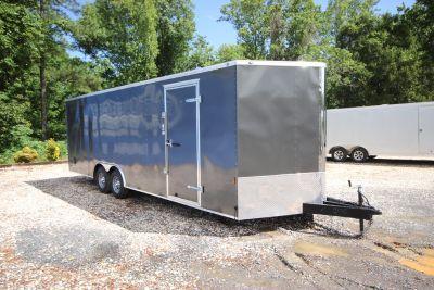 2019 Continental Cargo 24ft Enclosed Car Trailer