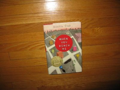 """HARDCOVER """"When you reach me"""" by Rebecca Stead"""