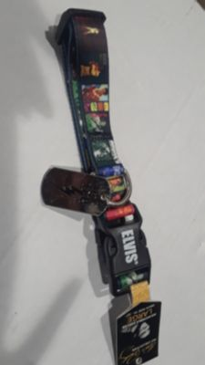 Elvis dog collar large
