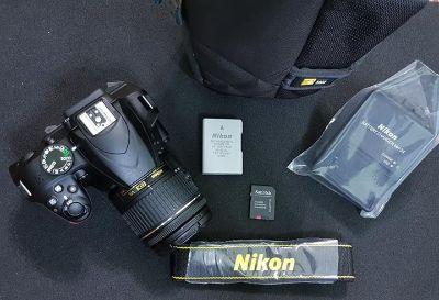 New dslr Nikon D3400 with 18 55 lens