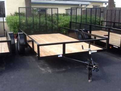 2017 Triple Crown 6X12 Utility Utility Trailers Fort Pierce, FL