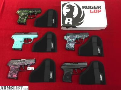 For Sale: NEW RUGER LCP .380 PISTOLS