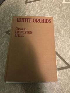 White Orchids Book