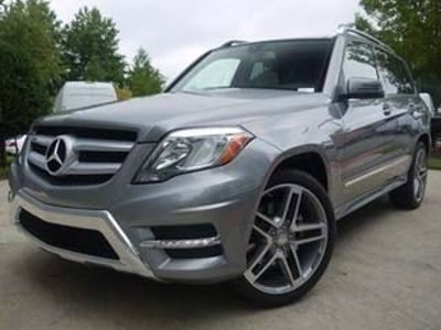 2013 Mercedes-Benz GLK-Class GLK350 4MATIC (Palladium Silver Metallic)