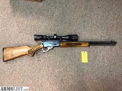 For Sale: Marlin 30AS 30/30 With 4x12 Bushnell Scope
