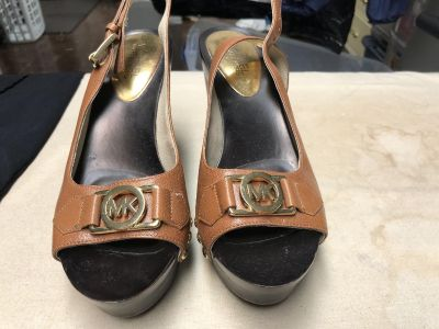 Michael Kors Wedges. Barely used. Size 7