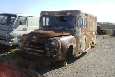 Find 1954 1955 Dodge Job Rated MILK TRUCK Rat Rod Project motorcycle in Great Bend, Kansas, US, for US $1,950.00