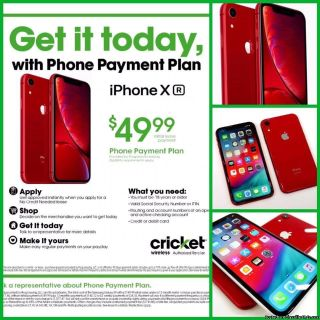 ONLY $49 DOWN GETS U THAT HIGH END PHONE U WANT TODAY FROM CRICKET WIRELESS SOUTHFIELD!!