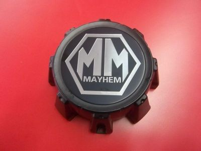"Buy MAYHEM 8020 8 LUG C10802004B C612104 C1018304 B WHEEL RIM CENTER CAP 6.5"" DIA motorcycle in Albany, Oregon, US, for US $29.99"