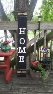 Painted pallet sign