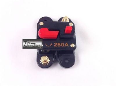 Find New Bullz Audio BCB250A 12 Volt 12V 250 Amp Circuit Breaker & Self Test Button motorcycle in Los Angeles, California, United States, for US $12.75