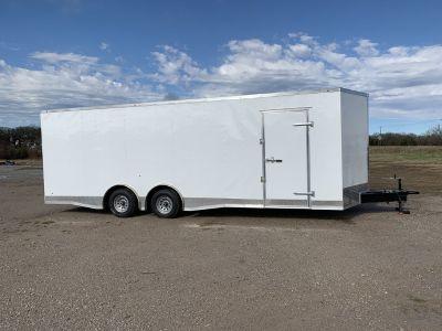 24' enclosed car hauler