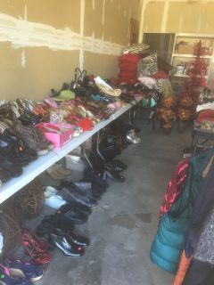 Moving.....A lot of new women clothes, shoes, purses