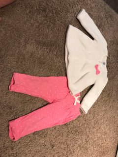 Sweater and Pants Outfit. 6-9M. Excellent Condition.