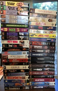 VHS Movie Assortment 2