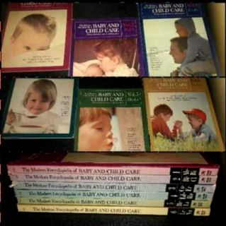 The Modern Encyclopedia of Baby and Child Care, from prenatal care to adolescence Vol.1-Vol.6