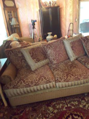 Love seat/chaise sofa