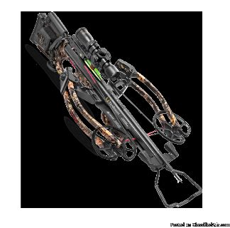 Ten point carbon nitro rdx crossbow