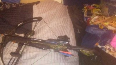 Costco at come with five bow and arrows or I can trade for a four wheeler