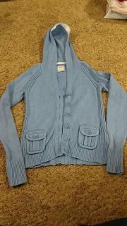 Large Old Navy Button Up Sweater