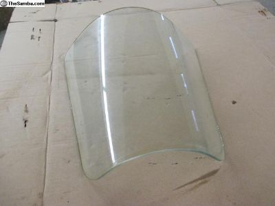Clear Corner Window Glass- No Logo