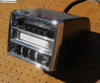 Vintage Floor Mount Pioneer 8-Track/FM Radio