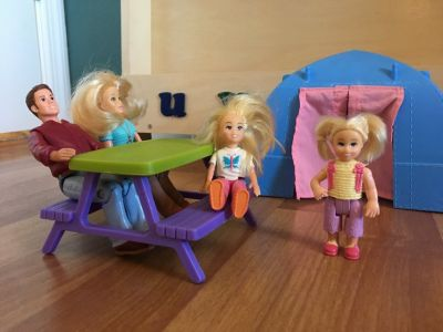 Fisher Price Loving Family Doll Camping Set