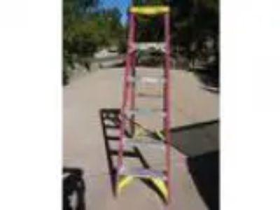 Werner Fiberglass Step Ladder (Parker)