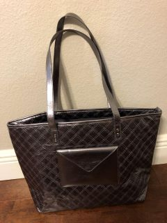 Lovely Silver Tote