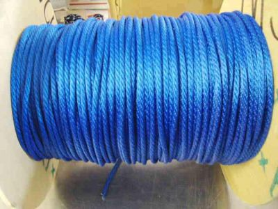 """Sell anchor rope, docline, 1/8"""" X 100' BLUE BRAIDED ROPEgreat 4 bait bukt MADE USA motorcycle in Hamilton, Alabama, US, for US $18.95"""