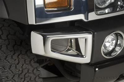 Find Putco 404205 Bumper Trim Front Plastic Chrome Hummer Pair motorcycle in Tallmadge, Ohio, US, for US $118.97