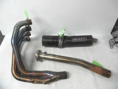Sell 1993-2001 Kawasaki 1994 ZX11 Muzzy full exhaust header 4 to 1 with broken can motorcycle in Munford, Alabama, United States, for US $200.00