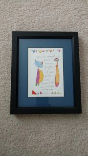 Professionally Framed & Matted Brian Andreas Story People Print