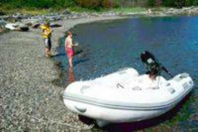 Caribe RHIB, engine, and trailer - Reduced for quick sale