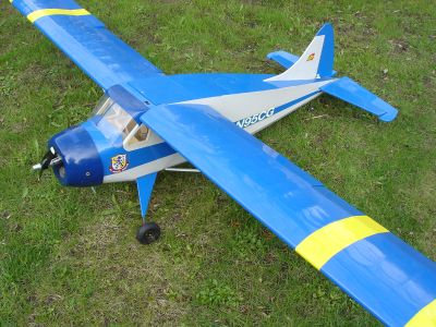 96 inches DeHavilland Beaver by Unionville Hobby with OS Four stroke engine