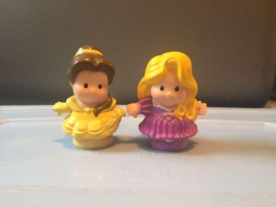 Fisher Price Little People - Belle and Rapunzel set