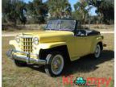 1951 Willys Jeepster concours Restoration Convertible