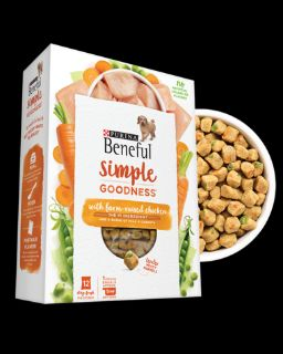 Purina Beneful Simple Goodness With Farm-Raised Chicken Dog Food -