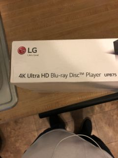 4K Uktra HD BLUE RAY PLAYER