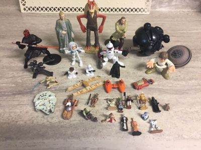 Misc. Star Wars Toys. CP.