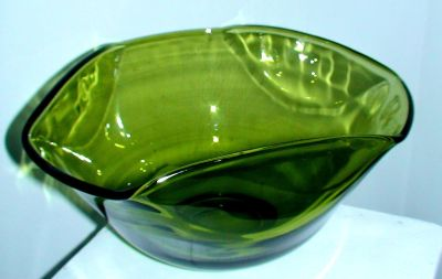 """Antique Deco Leaded Glass Bowl, 10"""" approx, mint condition"""