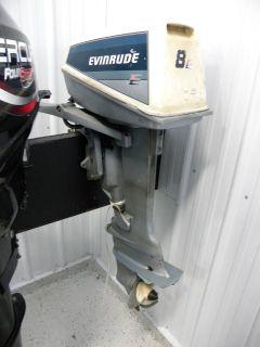 1985 Evinrude E8RCOB Fishing Outboard Motors Kaukauna, WI