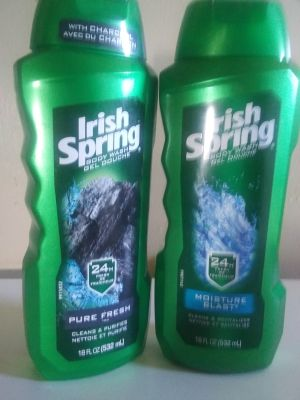 2 Body washes for men 18 ounces