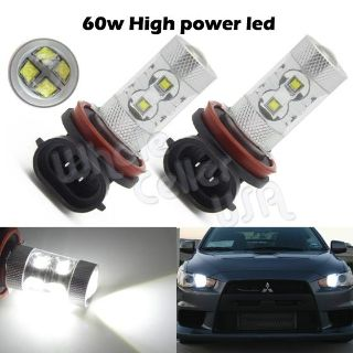Buy Xenon White H8 High Power CREE XB-D 60W Car LED Fog/Dirving Lights Bulbs(1pair) motorcycle in Cupertino, CA, US, for US $146.89