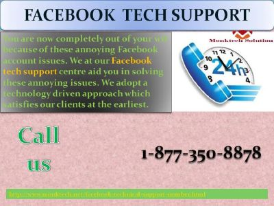Streamline FB account with our Facebook Tech Support @ 1-877-350-8878