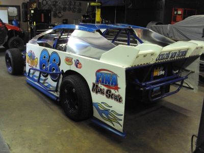 Modified Dirt Track Car